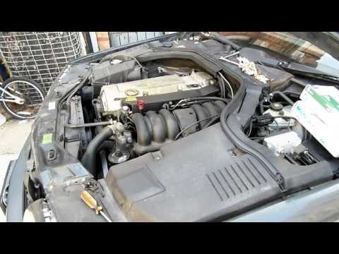 Mercedes 6 cylinder throttle body removal/installation. Part 1 - throttle actuator removal