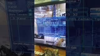 Xmeye kayit cihazda yedekleme alma videosu