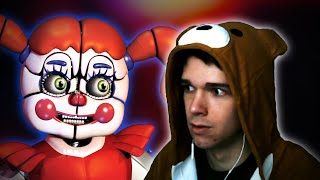 Eret Plays FNAF Sister Location for the FIRST Time!!!