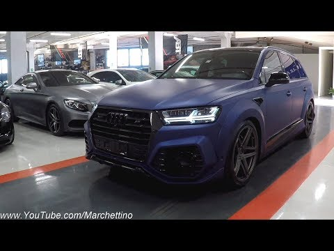 Audi SQ7 by ABT - The World's Most Powerful Diesel SUV! [Test Drive] Sub ENG