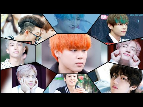"""BTS Since Debut """"Asia Top List"""" Most Epic Hairstyles"""