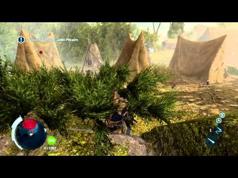 How to Assassinate John Pitcairn in Assassin's Creed 3