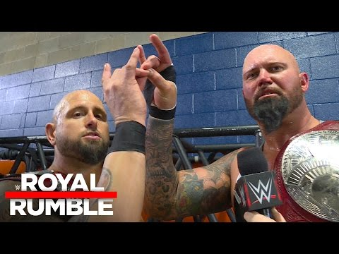 Luke Gallows & Karl Anderson have tasted success before: Royal Rumble Exclusive, Jan. 29, 2017
