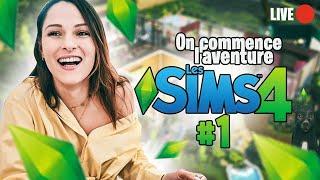 🔴 Live -  On commence l'aventure des SIMS 4 !!! 😍 #1