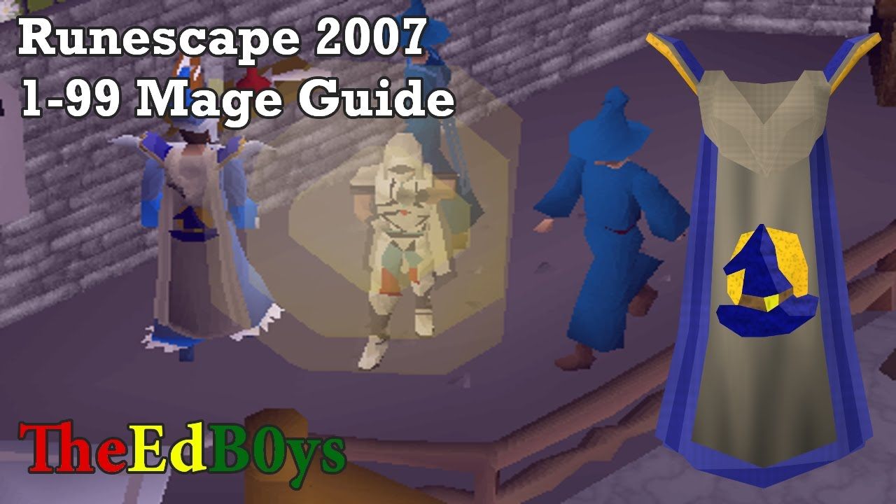 runescape 2007 1 99 magic guide osrs 99 mage guide youtube
