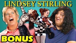 Adults React to Lindsey Stirling (Dubstep Violin) (Bonus #15)