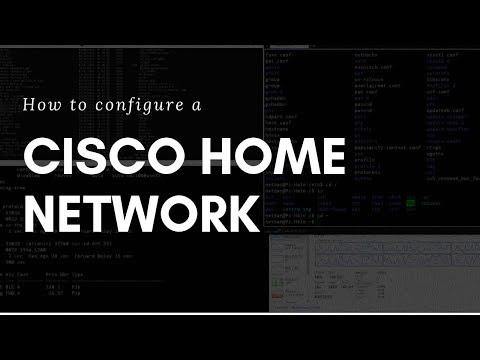 Configure Cisco Home Network