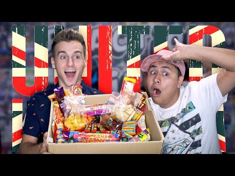 Americans React To British Candy!