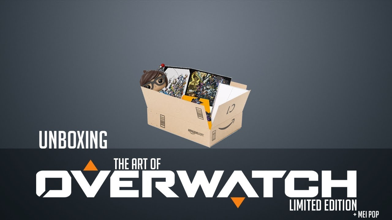 Unboxing Art Of OverWatch Limited Edition Mei Pop Figure Part1 3