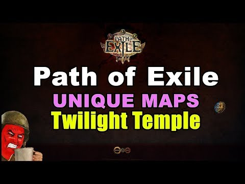 TWILIGHT TEMPLE Unique Map in Path of Exile