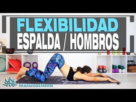 Rutina de flexibilidad para ESPALDA y HOMBROS - nivel intermedio