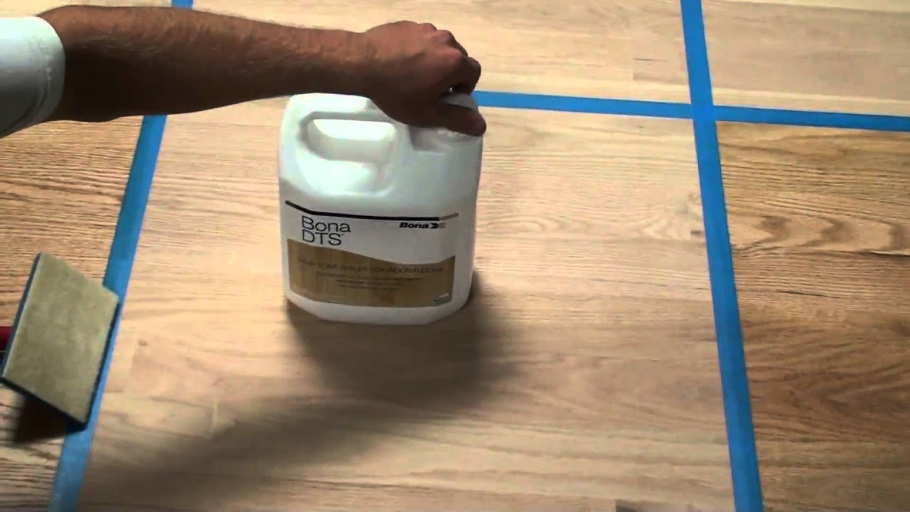 bona dts wood floor sealer soldfloormechanics - youtube