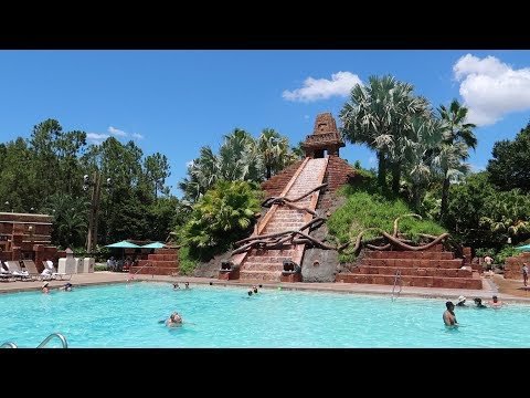 Walt Disney World Coronado Springs Resort  Resort Tour With Construction & Food Locations