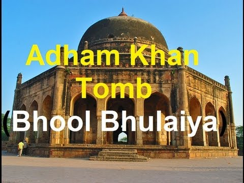 "Historical Place Of Delhi ""Adam Khan Tomb - Bhool Bhulaiya"" - 450 Years Old"