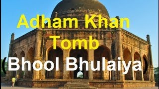 "Historical Place Of Delhi ""Adam Khan Tomb - Bhool Bhulaiya"" - 450 Years Old"