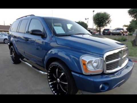 2006 dodge durango slt for sale in garland tx youtube. Black Bedroom Furniture Sets. Home Design Ideas