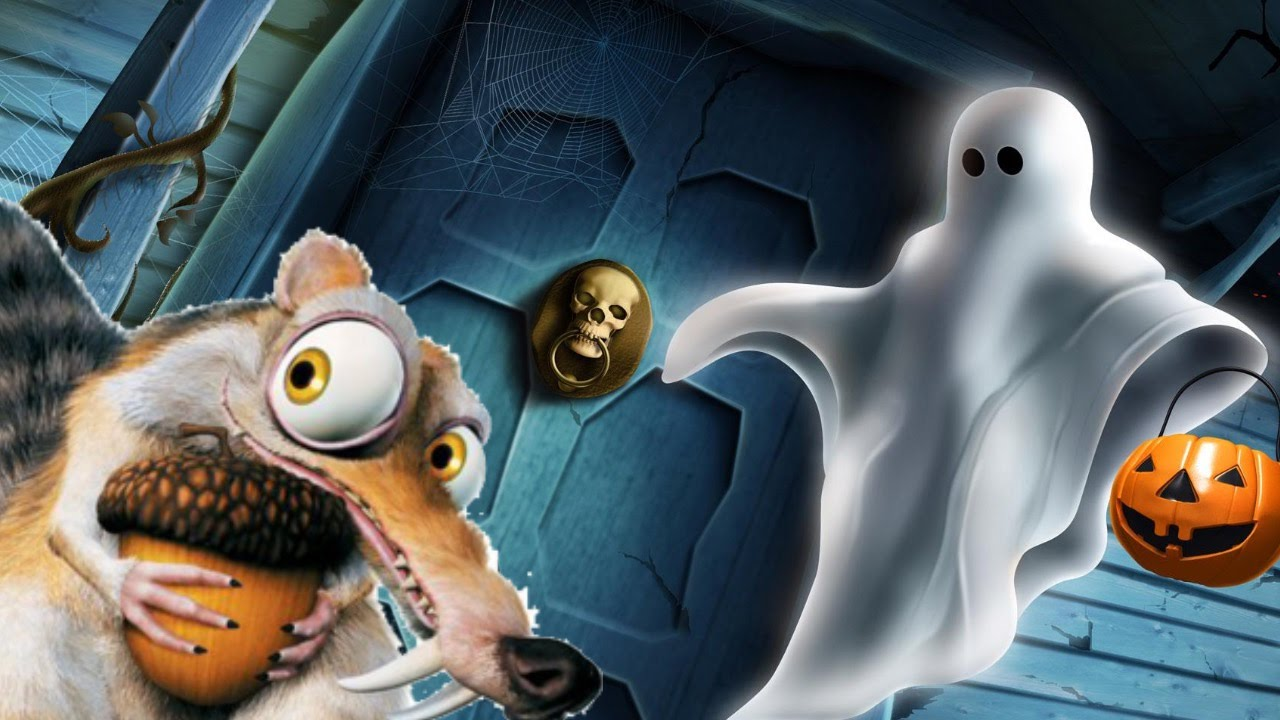 Ice age 5 squirrel short scary ghost halloween cartoon for kids with ice age 5 squirrel short scary ghost halloween cartoon for kids with minions full funny movie publicscrutiny Images