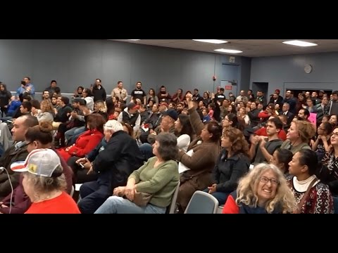 CUDAHY EXPLODES BEFORE CITY COUNCIL MEETING. TRUMP SUPPORTERS VS GEORGE SOROS CHANTERS.