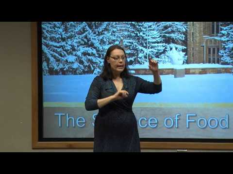 Rhoda Schantz  at Saturday U:  The Science Behind Heritage Food