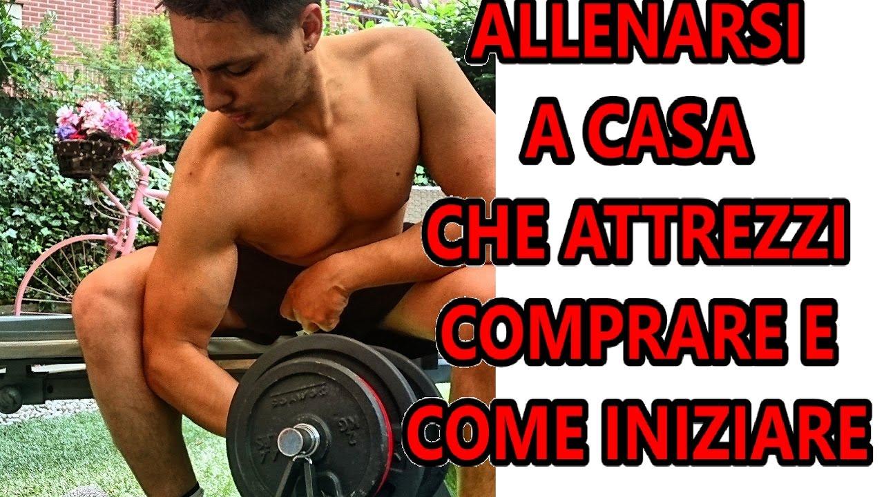 Bodybuilding pesi palestra a casa che attrezzi comprare e come iniziare scheda e metodica - Attrezzi per imbiancare casa ...