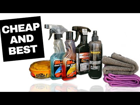 Cheap And Best Car Detailing Products Youtube