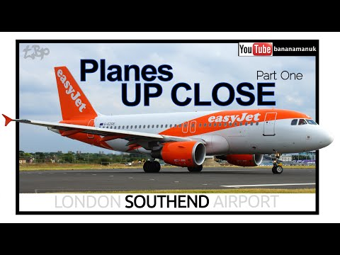 London Southend Airport (SEN) Plane Spotting UP CLOSE departures flybe easyJet Southend-On-Sea