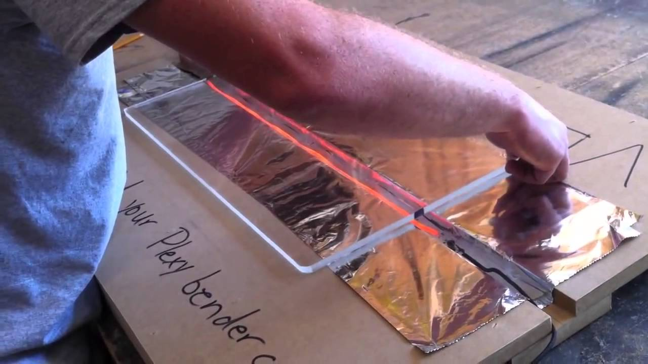 How to Bend PlexiGlass - YouTube