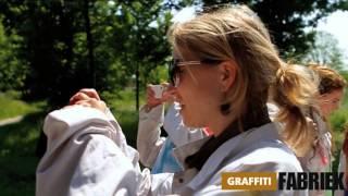 graffiti-fabriek - graffiti workshop op een legale muur (vrijgezellenfeest vrouwen Amsterdam)
