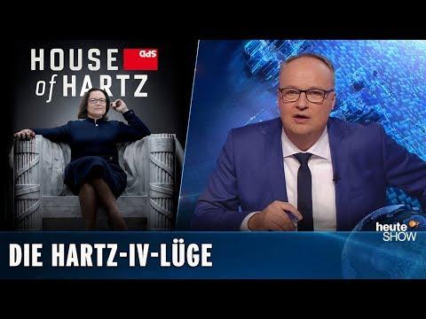 Hartz IV hat nichts mit dem deutschen Aufschwung zu tun | heute-show vom 23.11.2018
