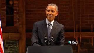 President Obama shows his stand up comedy ability as he completely wrecks Republicans
