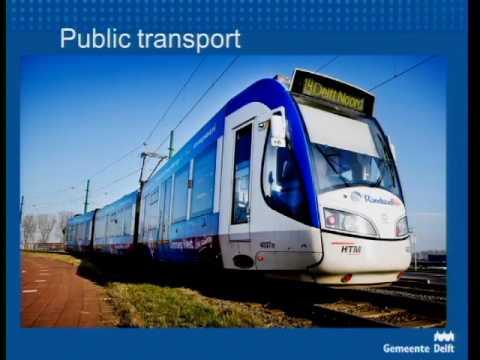 Transport Planning in Delft, Netherlands