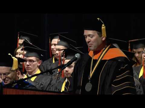 University of Iowa Engineering Commencement - December 18, 2016 on YouTube
