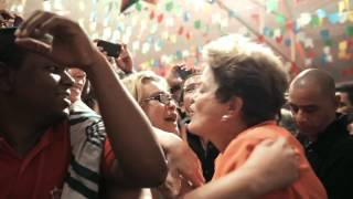 Novo clipe! Dilma Coração Valente, Força Brasileira (jingle campanha 2014)