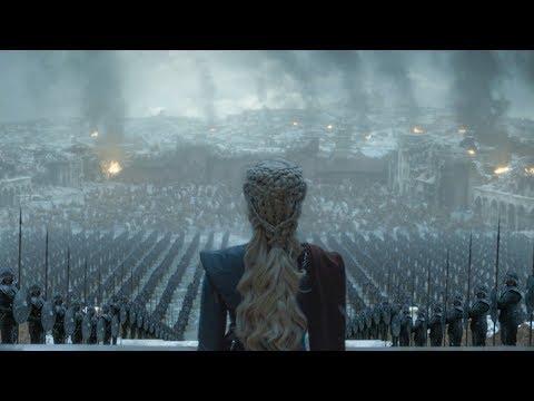 Daenerys becomes Saruman (LOTR style Alternate GoT ending)