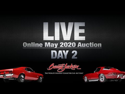 live-stream---day-2-online-may-2020-auction---barrett-jackson