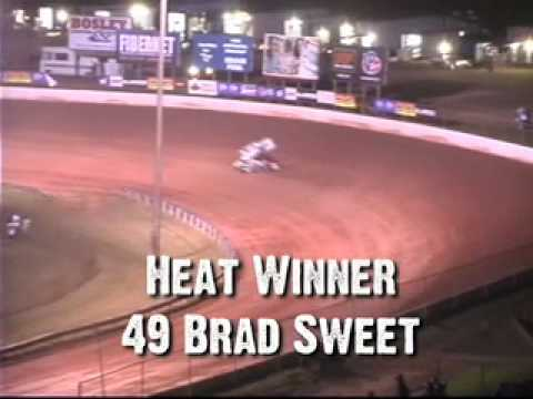 West Virginia Motor Speedway Sprint Car Heat #3 7-10-10