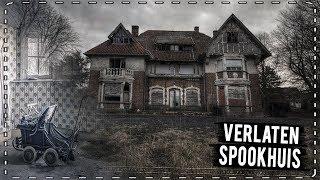 'HET SPOOKT HIER!!' bezoek aan een verlaten huis #VAELTAX