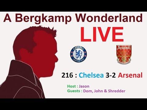 #ABWLive : 216 - Chelsea 3-2 Arsenal (Premier League)