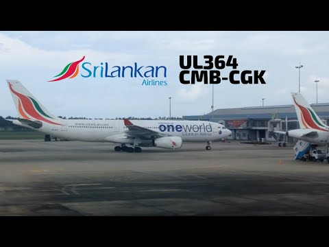 SriLankan Airlines | Colombo to Jakarta | Airbus A330-200 (UL364 | 4R-ALH)