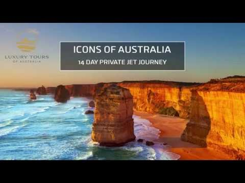 Luxury Tours of Australia - Icons by Private Jet 2017