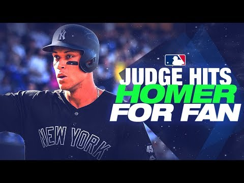 In The Zone - Yankees OF Aaron Judge Promises an Old Man a HR and DELIVERED!