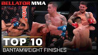 Top 10 Bantamweight Finishes | Bellator MMA