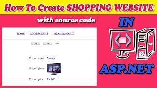 Create Shopping website project in ASP.NET C# with source code