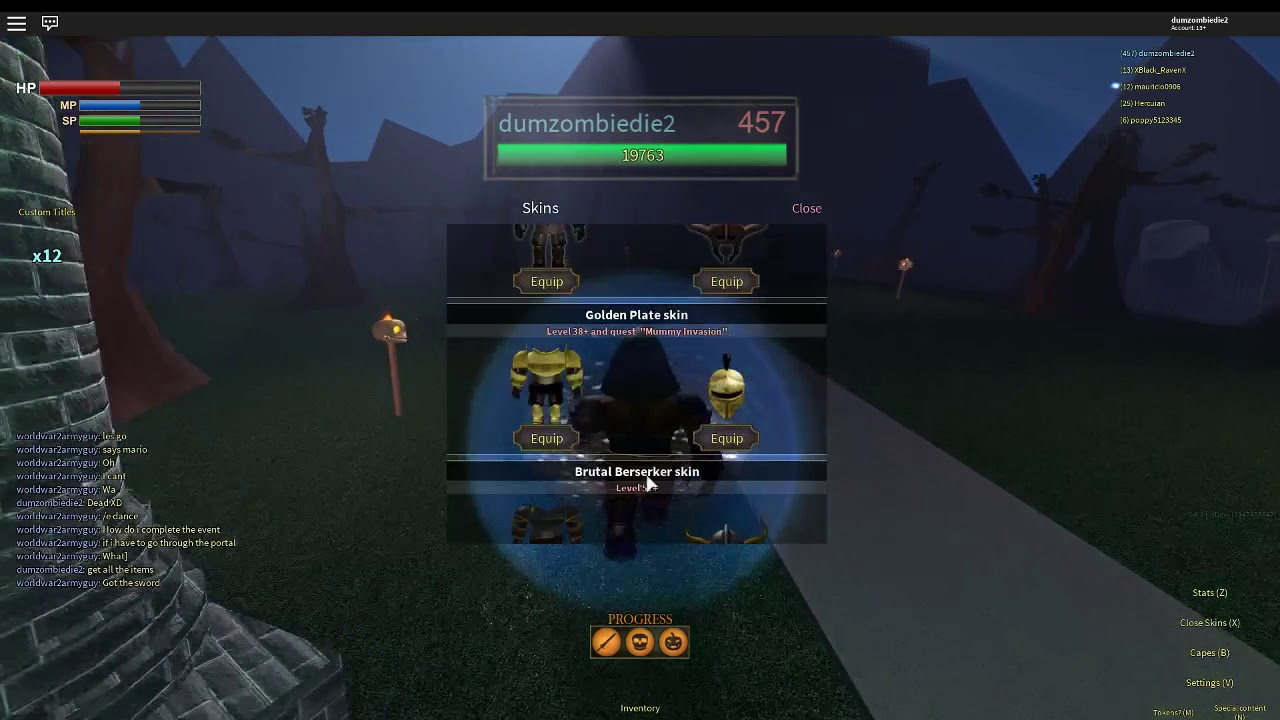 roblox the lords of nomrial halloween event [promo code in desc