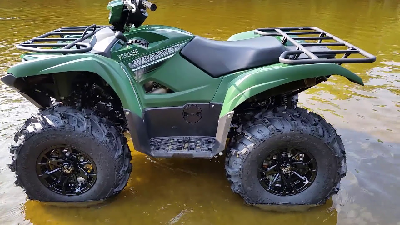 Yamaha Grizzly 700 Moded With 27 Itp Mud Lite Xtr