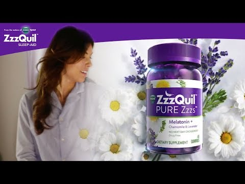 Support Your Natural Sleep Cycle With ZzzQuil Pure Zzzs