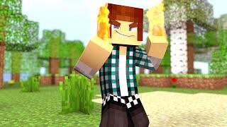 Minecraft: Poderes Mágicos SEM MODS ( Controle Fogo, Meteoro de Gelo)