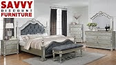 Samuel Lawrence Diva Bedroom Group With Upholstered Headboad Bling Home Gallery Stores Youtube
