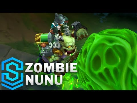 Zombie Nunu 2018 Skin Spotlight - Pre-Release - League of Legends