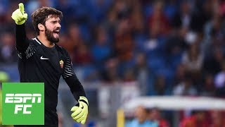 alisson becker welcome to liverpool